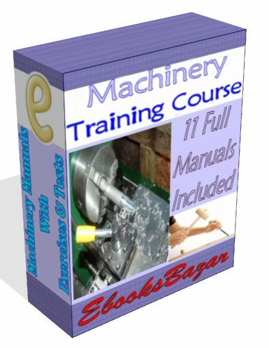 Product picture MACHINERY TOOLS TRAINING COURSE BANDSAW LATHE Guides Ebooks 11 Full Courses